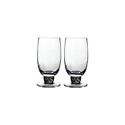 Denby Jet Large Tumblers Set of 2
