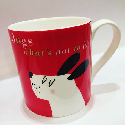 Dogs What's Not To Love? Mug Red