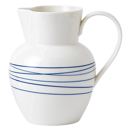 Royal Doulton Pacific Blue Lines Pitcher