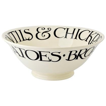 Emma Bridgewater Black Toast Medium Serving Bowl