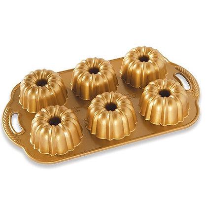 Nordic Ware Gold Anniversary Bundtlette Pan