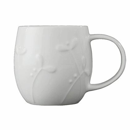 Repeat Repeat Plum Mug - Cress