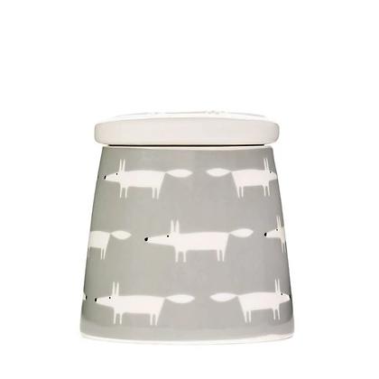 Scion Living Mr Fox Large Storage Jar - Grey
