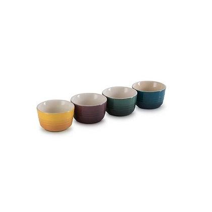 Le Creuset Stoneware Botanique Set of 4 Ramekins