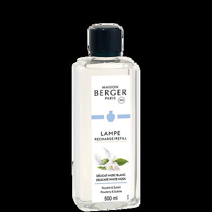 Maison Berger Delicate White Musk Fragrance Lamp Refill 500ml