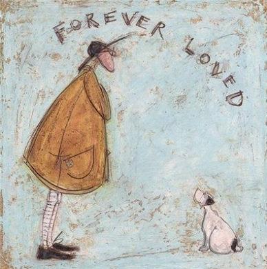 Canvas Art - Sam Toft 'Forever Loved'