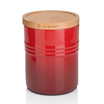 Le Creuset Medium Storage Jar - Cerise
