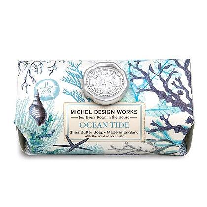 Michel Designs Bar Soap - Ocean Tide