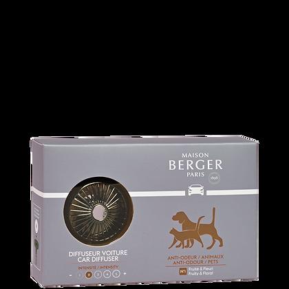 Maison Berger Animal Anti-odour Car Diffuser Set