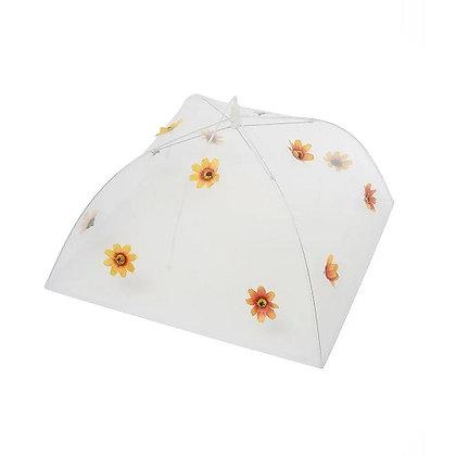 Eddingtons Orange Flower Food Umbrella 48cm