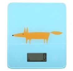 Scion Living Mr Fox Electronic Scales - Blue