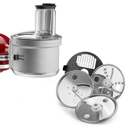 KitchenAid Food Processor Attachment for Artisan Stand Mixer and discs