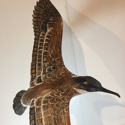 Archipelago Shearwater Wooden Sculpture