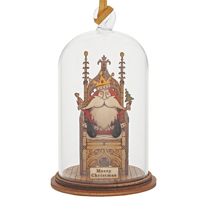 Kloche Hanging Ornament - A King is Born