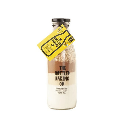 Bottled Baking  - Un-BEE-lievable Choco-Honey Cookie Mix