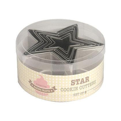 Eddingtons Star Cookie Cutters Set of 8