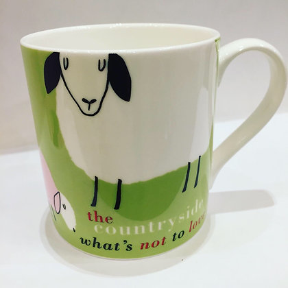 Countryside What's Not To Love? Mug Green