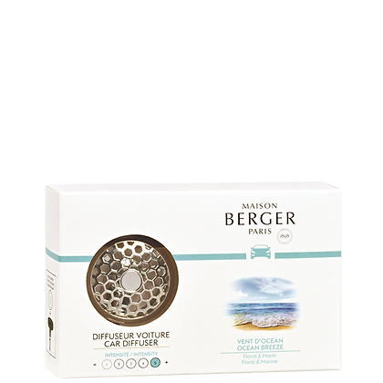 Maison Berger Ocean Breeze Car Diffuser Set