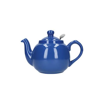 London Pottery 2 Cup Farmhouse Infuser Teapot - French Blue
