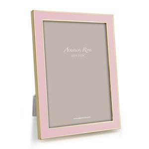 Addison Ross 5x7 Photo Frame - Pale Pink and Gold