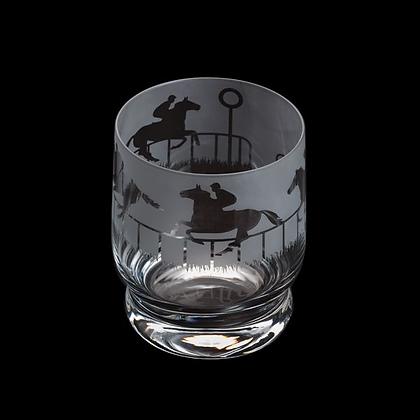 Dartington Aspect Horse Racing Glass Tumbler