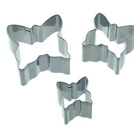 KitchenCraft Butterfly Fondant Cutters Set of 3