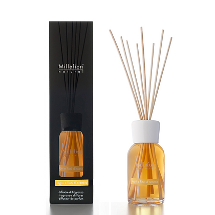 Millefiori Milano Natural 100ml Diffuser - Orange Flower