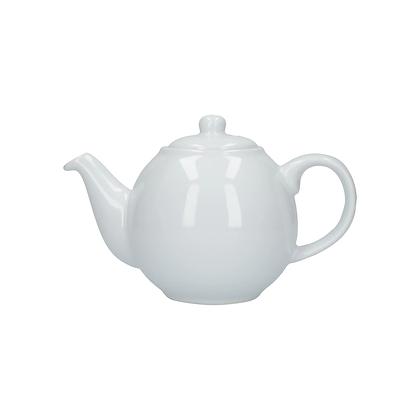London Pottery 4 Cup Globe Teapot - White