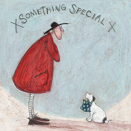 Canvas Art - Sam Toft 'Something Special'