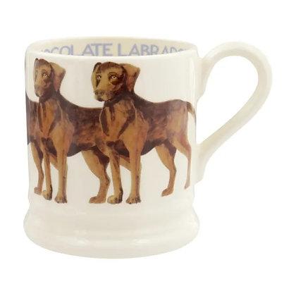 Emma Bridgewater Chocolate Labrador Half Pint Mug