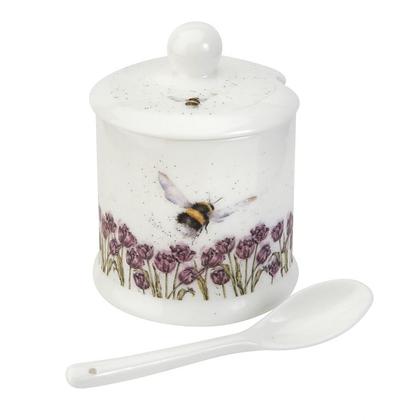 Royal Worcester Wrendale Conserve Jar - Bumblebee