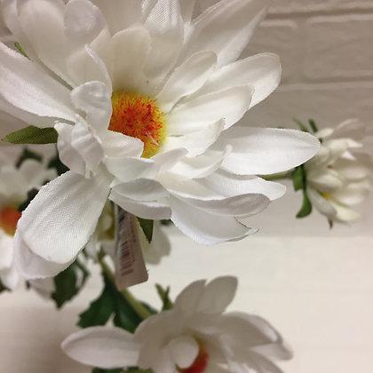 Grand Illusions Artificial White Daisy Spray