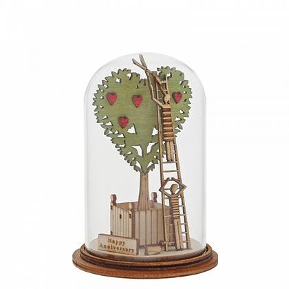 Kloche Ornament - Happy Anniversary