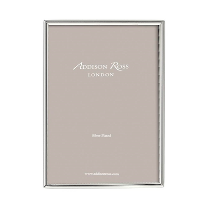 "Addison Ross Silver Plate Frame - Fine Edge 5""x7"""
