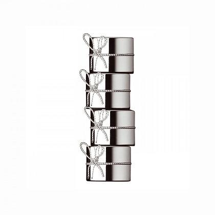 Vera Wang Love Knots Napkin Rings stacked