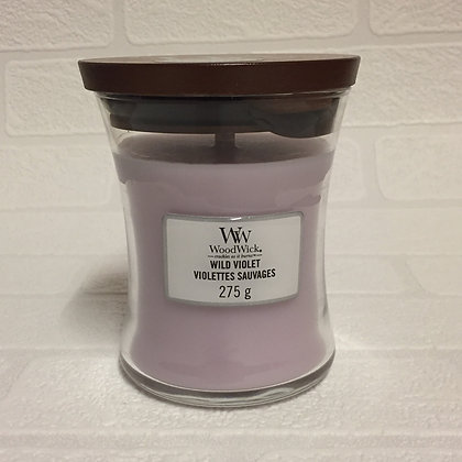 Woodwick Medium Candle - Wild Violet