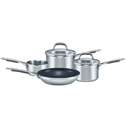 Meyer Select 4 Piece Stainless Pan Set