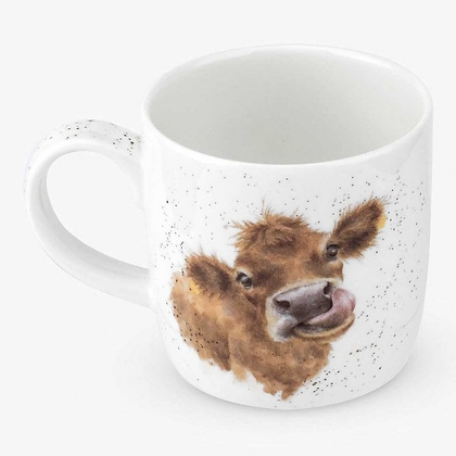 Royal Worcester Wrendale Cow Fine Bone China Mug
