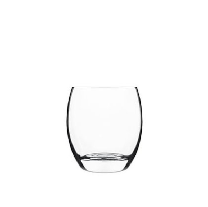 Luigi Bormioli Crescendo Set of 4 Double Old Fashioned Glasses