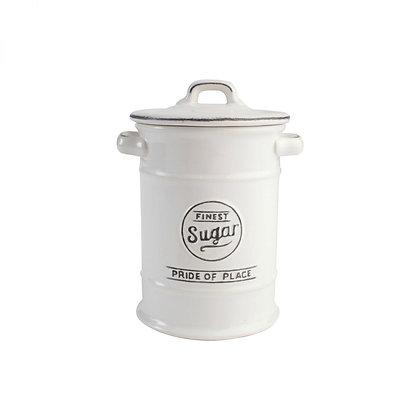 T&G Pride Of Place Sugar Jar - White