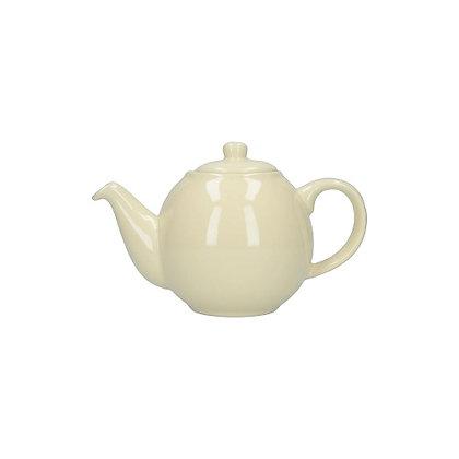 London Pottery 2 Cup Globe Teapot - Ivory