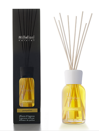 Millefiori Milano Natural 250ml Diffuser - Grapefruit