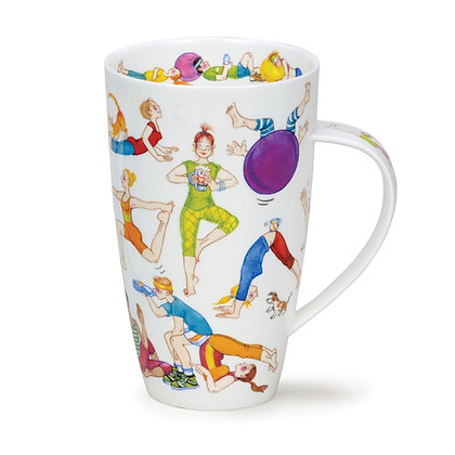 Dunoon Henley Mug -Flexible Friends