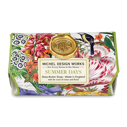 Michel Designs Bar Soap - Summer Days