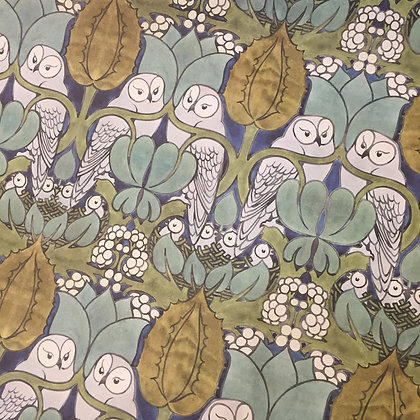 Gift Wrapping - Voysey Owls