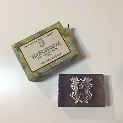 Saltworks Large Bar Soap - Rainstorm