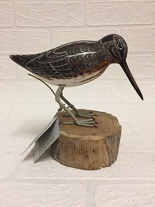 Archipelago Jack Snipe Wooden Sculpture