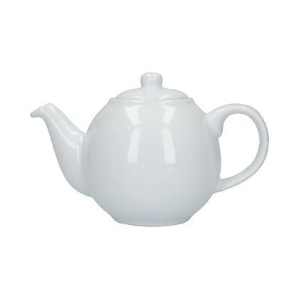 London Pottery 6 Cup Globe Teapot - White