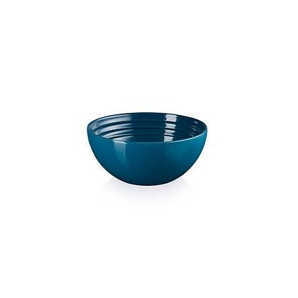Le Creuset Stoneware Snack Bowl - Deep Teal