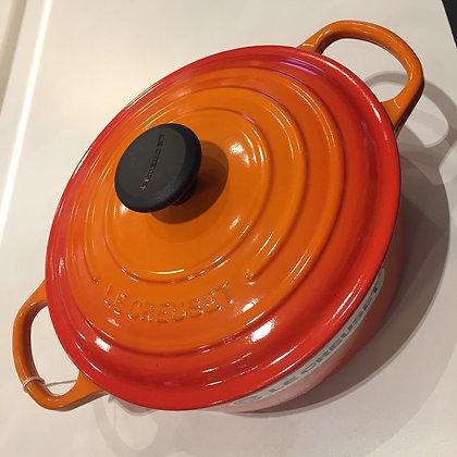 Le Creuset 24cm Cast Iron Risotto Pot - Volcanic